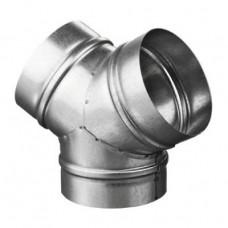 Тройник Y-образный ТМУ 125 Ц (ТМY 125 Zn)