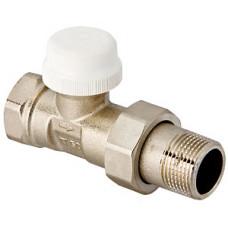 """клапан  термостатич.VALTEC  для рад.прямой 1/2"""" (VT.32)   10/80"""