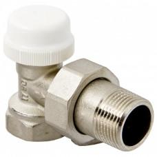 """клапан  термостатический угловой для радиатора 1/2""""   10/80 VT.031"""