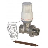 Термостатическая головка с выносным датчиком, Lavit ...