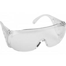 Очки DEXX защитные, поликарбонатная монолинза с бок ...
