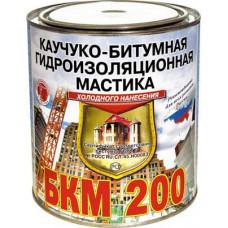 Мастика Каучуко-Битумная БКМ-200 2кг