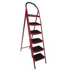 Лестница-стремянка СИБИН стальная c широкими ступен ...