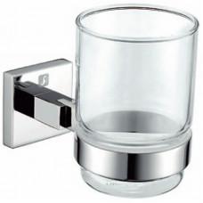 """""""Модерн"""" держатель для стакана, стекло, хром"""