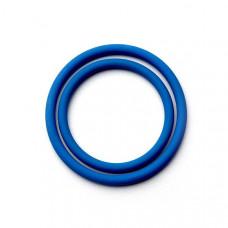 Кольцо уплотнит.силиконовое(синее) 26