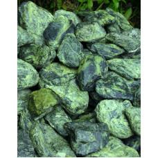 Камень для бани Змеевик 20 кг.