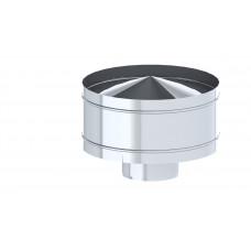 Дефлектор TMF ф150, 0,5мм, нерж