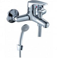 Смеситель одноручный (40 мм) для ванны с коротким и ...