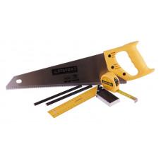 Ножовка по дереву (пила) ЗУБР МОЛНИЯ-5 450 мм, 5 TPI