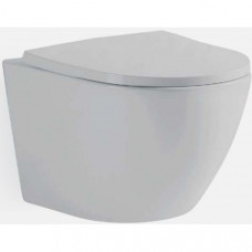 Унитаз подвесной TEKA MANACOR rimless с сиденьем и крышкой микролифт дюропласт, белый