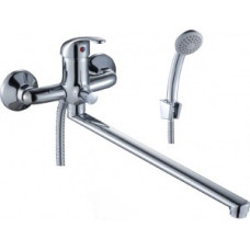 Смеситель одноручный (35 мм) для ванны с плоским из ...