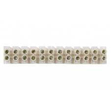 Колодка КЗВ 10-12 10А 2,5-6мм 12пар ASD