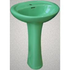 Умывальник с пьедесталом HD4, LB природный зеленый