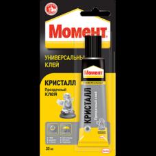 """Клей """"Момент Кристалл"""" в шоубоксе, 30 мл (Россия)"""