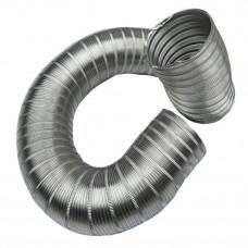 Канал алюминиевый гофрированный Компакт (3м) d=120