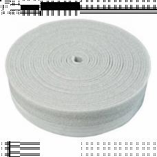 Демпферная лента 100х8 мм (30 м) Белая