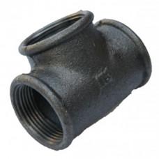 Тройник чугунный ч/к 25 мм