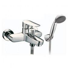 Смеситель одноручный (35 мм) для ванны с коротким и ...