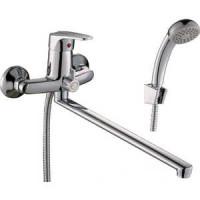 Смеситель одноручный (40 мм) для ванны с плоским из ...
