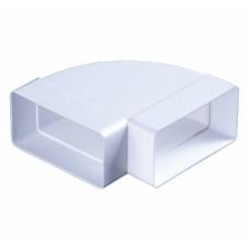 Горизонтальное колено 90 (110х55) 5251 б/я