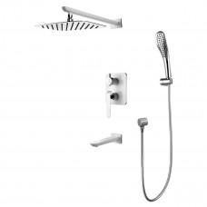 Смеситель для ванны LEMARK LM4922CW встраиваемый