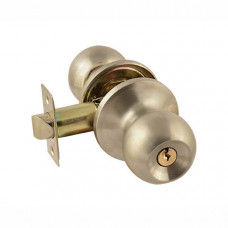 защелка ЗШ-01 (мат.никель) с ключем