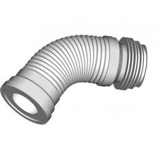 Cлив для унитаза гофрированный с металл спиралью ФЛЕКСИЛАЙН 3132 250/530