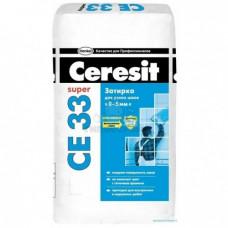 Ceresit CE 33 (2кг) (кирпич) Затирка для узких швов ...