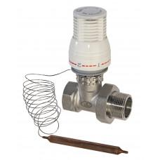 """Термостатическая головка с выносным датчиком, Lavita AV 1"""","""