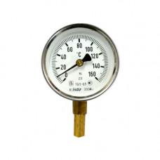 Термометр биметаллический ТБП63/50/Т-(0-160)С