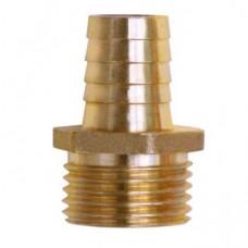 "Штуцер MI 1/2""*12 мм, 500шт (10шт/уп*50), д/присоед.шланга нар.резьба латунь, Lavita"