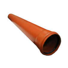 Труба НПВХ D 160 L 1000 SN 4   1/28