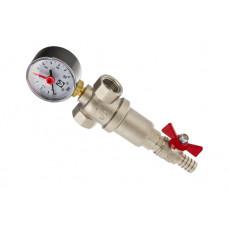 """Фильтр промывной с манометром 1"""" VT.389.N.06 V ..."""